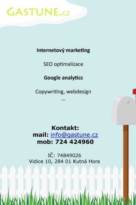 Gastune.cz - seo optimalizace, marketing